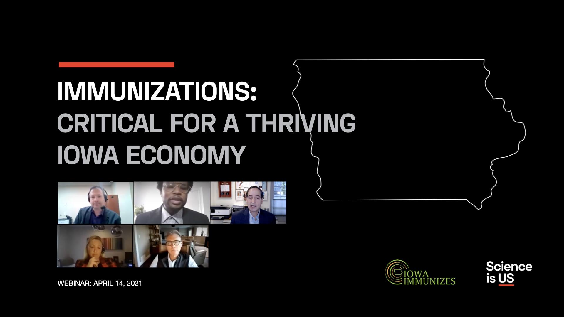 Immunizations Critical For A Thriving Iowa Economy Hosted By Iowa Immunizes And Science Is US